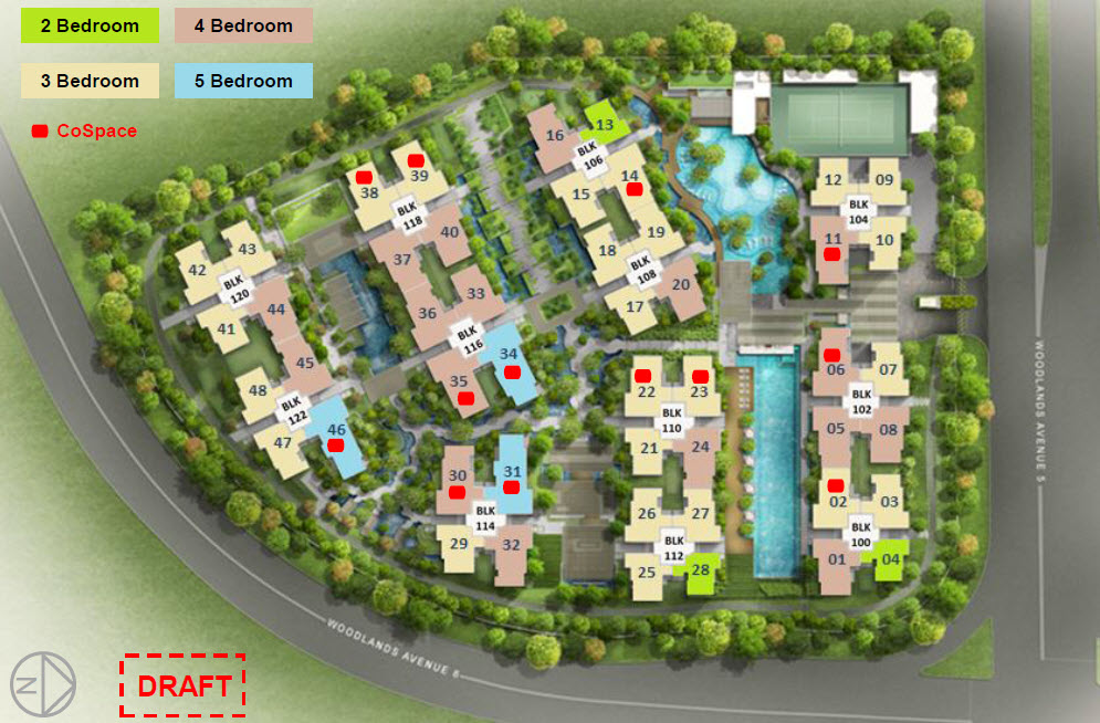 Bellewoods Site Plan